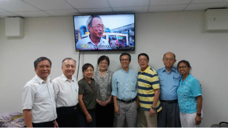 台北校友團契舉行例行聚會