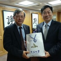 內政部政務次長陳宗彥:學弟妹要珍惜東海自由學風的好環境,讓自己有機會脫穎而出!
