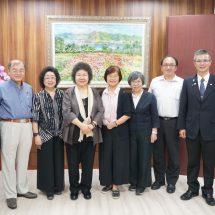 東海校友總會拜會校友監委范巽綠、蘇麗瓊和考試委員陳錦生